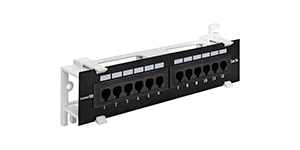 Patch panel EPP3-19-12-8P8C-C5e-110D, 19'', UTP, 12 port, cat.5e